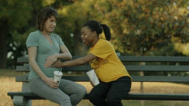 "Cobie Smulders and Gail Bean star in ""Unexpected."""