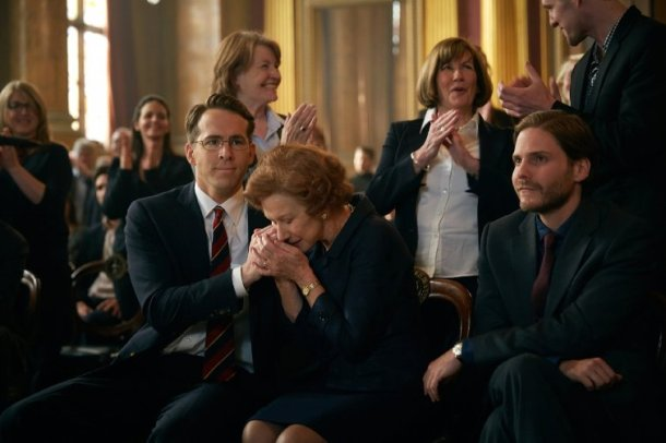 """Helen Mirren and Ryan Reynolds star in """"The Woman in Gold."""""""