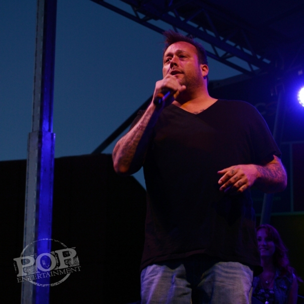 Uncle Kracker performing at Xfinity Live in Philadelphia, August 22, 2015. Photo copyright 2015 Deborah Wagner.