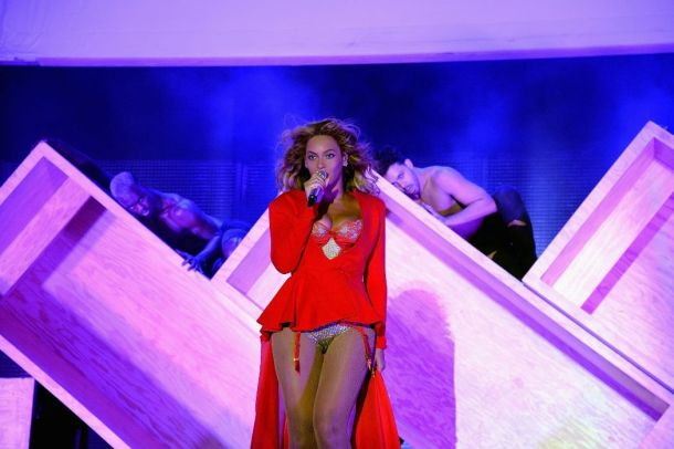 Beyonce at Made in America Festival on the Benjamin Franklin Parkway in Philadelphia, PA September 5, 2015.  Photo copyright ©2015 Getty Images. Courtesy of MSO-PR.