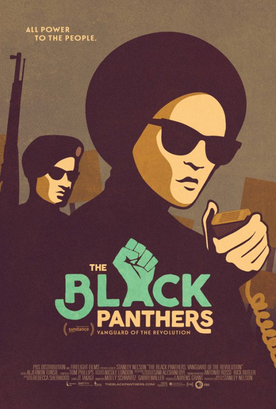 The Black Panthers: Vanguard of Revolution