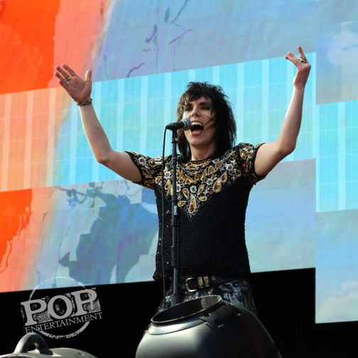 The Struts at Made in America Festival on the Benjamin Franklin Parkway in Philadelphia, PA September 5, 2015.  Photo copyright ©2015  Shana Bergmann.