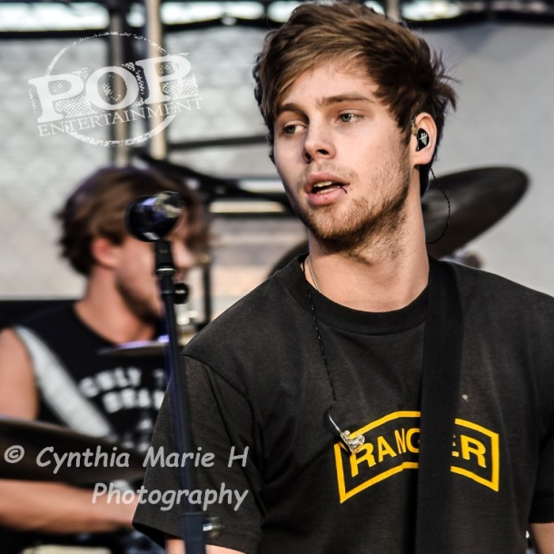Luke Hemmings of 5 Seconds of Summer - Hollywood and Highland Center - Hollywood, CA - October 23, 2015 - photo copyright Cynthia Marie H.