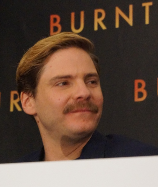Daniel Brühl at the New York press conference for Burnt. Photo ©2015 Brad Balfour.  All rights reserved.