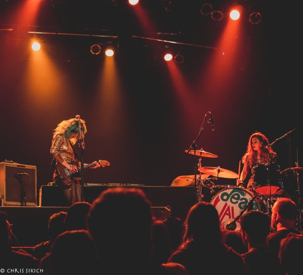 Deap Vally – The Trocadero – Philadelphia, PA – October 25, 2015 - Photo copyright 2015 Chris Sikich.