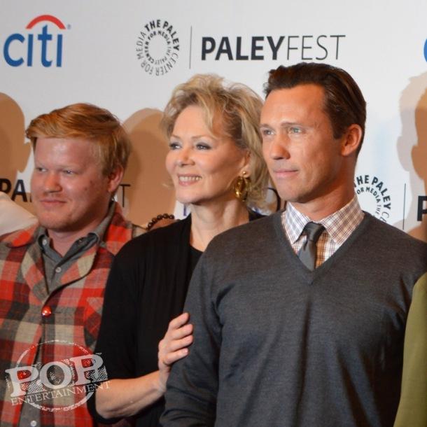 Jesse Plemons, Jean Smart and Jeffrey Donovan at the PaleyFest NY celebration of