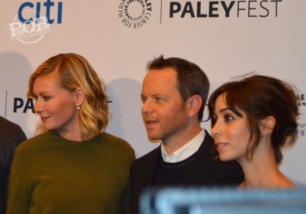 Kirsten Dunst, Noah Hawley and Cristin Milioti at the PaleyFest NY celebration of