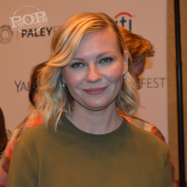 Kirsten Dunst at the PaleyFest NY celebration of
