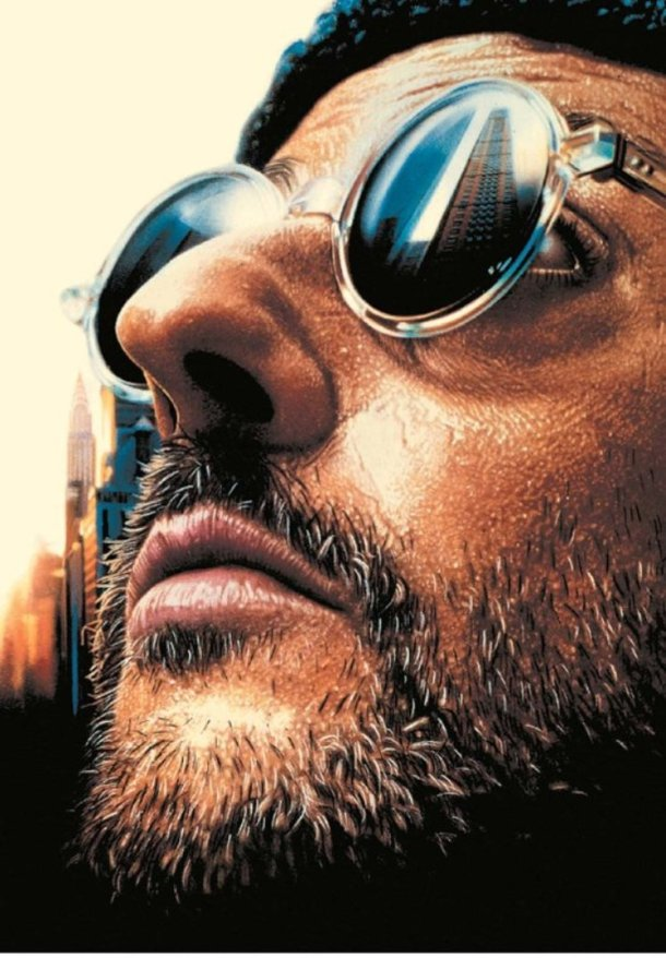 "Jean Reno in ""Leon: The Professional."""