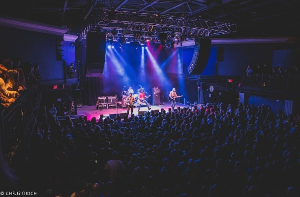 Old 97's – 9:30 Club – Washington, DC – October 17, 2015 - Photo ©2015 Chris Sikich.