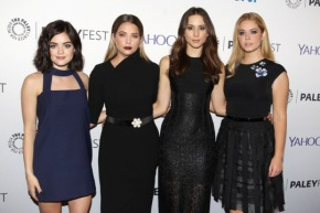 Lucy Hale, Ashley Benson, Sasha Pieterse, Troian Bellisario, Marlene King, Oliver Goldstick and Joseph Dougherty – The Truth About Pretty Little Liars