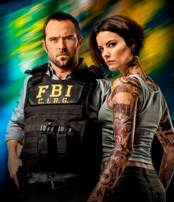 Sullivan Stapleton and Jaimie Alexander star in BLINDSPOT.
