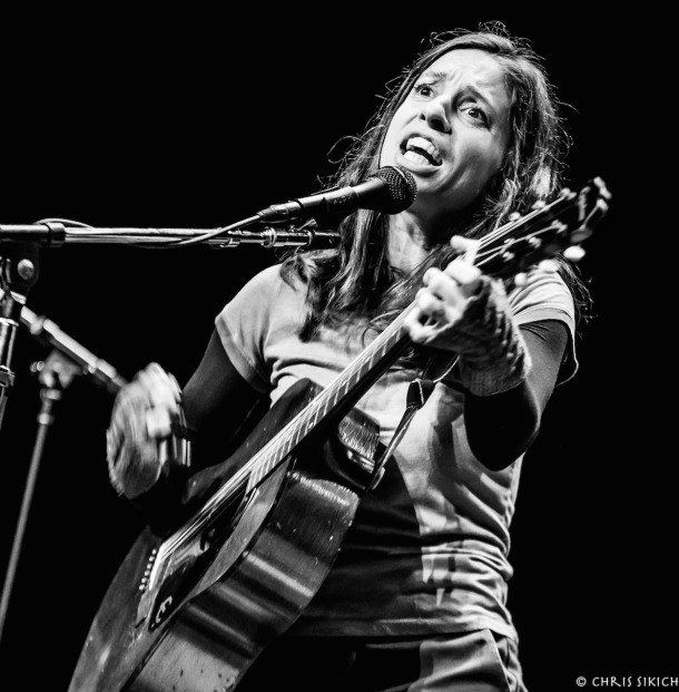 Ani DiFranco - Scottish Rite Auditorium - Collingswood, NJ - November 11, 2015 - Photo ©2015 Chris Sikich. All rights reserved.