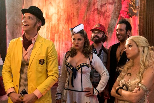 Chris Geere, Kether Donohue, Colette Wolfe, Desmin Borges and Aya Cash star in YOU'RE THE WORST.
