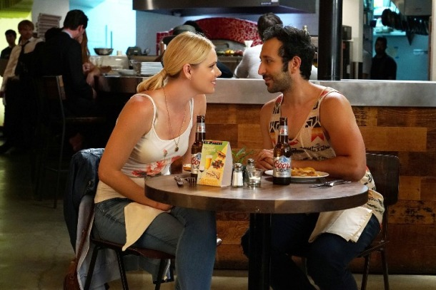 Colette Wolfe and Desmin Borges star in YOU'RE THE WORST.