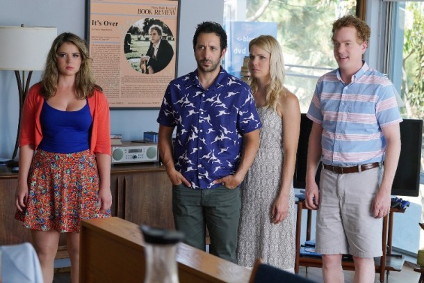 Aya Cash, Desmin Borges , Colette Wolfe and Todd Robert Anderson star in YOU'RE THE WORST.