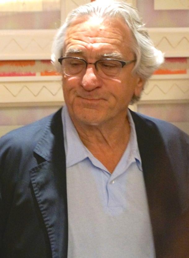 Robert De Niro at the New York Press Day for THE INTERN.