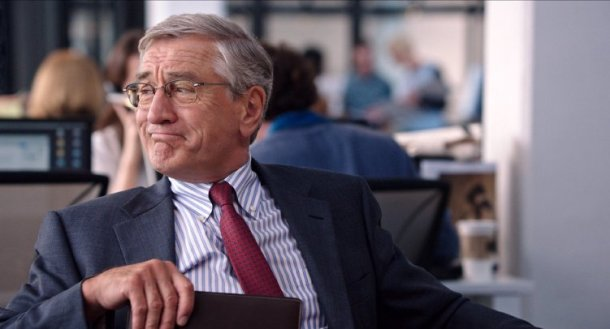 Robert De Niro stars in THE INTERN.