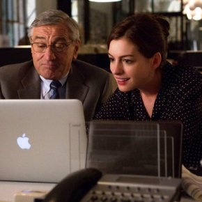 Robert DeNiro , Anne Hathaway & Nancy Meyers Work Out Well in The Intern