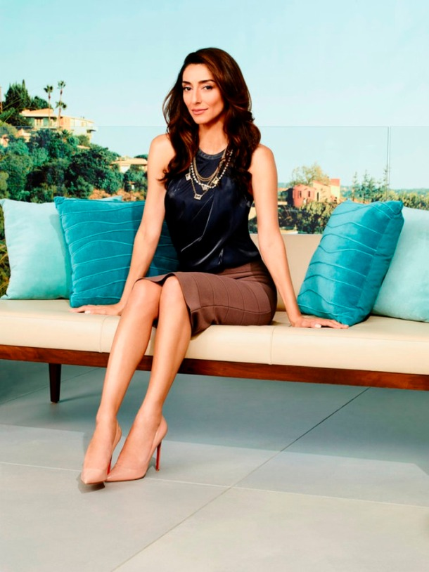 THE GIRLFRIENDS GUIDE TO DIVORCE -- Season:1 -- Pictured: Necar Zadegan as Delia -- (Photo by: Andrew Eccles/Bravo)