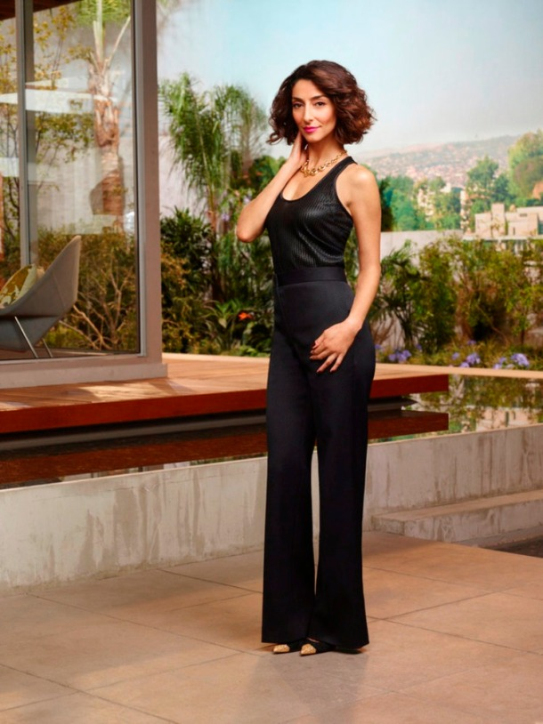 GIRLFRIENDS' GUIDE TO DIVORCE -- Season:2 -- Pictured: Necar Zadegan as Delia -- (Photo by: Andrew Eccles/Bravo)