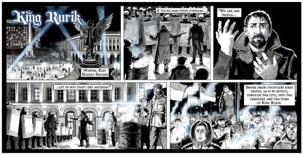 King Rurik graphic novel
