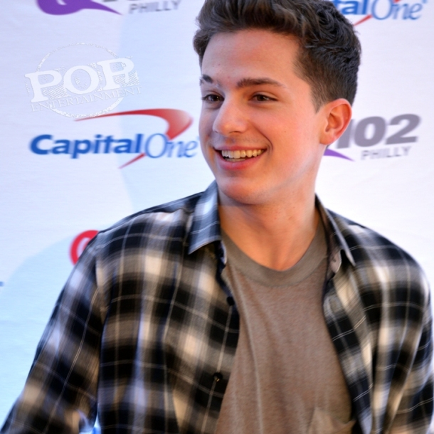 Charlie Puth on the red carpet - Q102 Jingle Ball At Wells Fargo Center - Wells Fargo Center - Philadelphia, PA - December 9, 2015