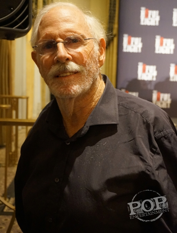 "Bruce Dern at the New York Press Conference for ""The Hateful Eight."" Photo copyright 2015 Brad Balfour."
