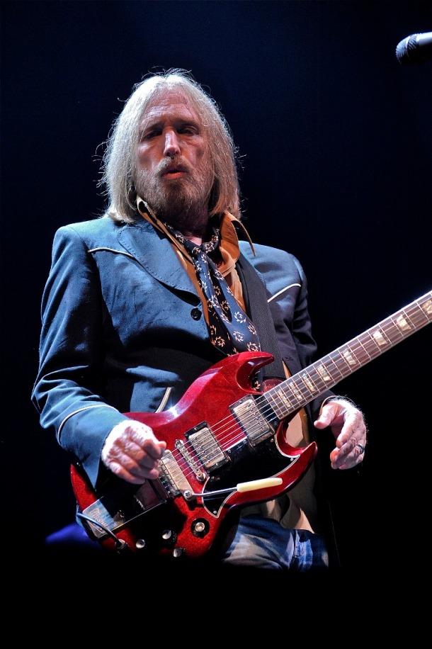 Tom Petty in 2014. Photo by Jim Rinaldi.