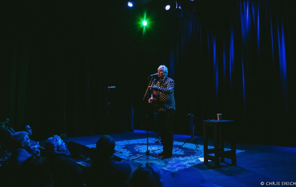 Robyn Hitchcock - Sellersville Theater - Sellersville, Pennsylvania - January 28, 2016 - Photo by Chris Sikich © 2016