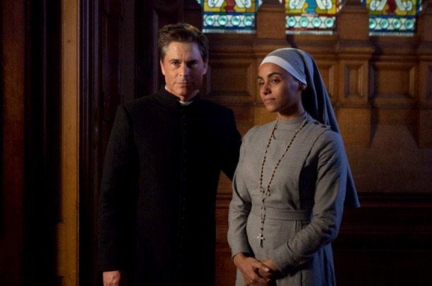 Rob Lowe and Gaia Scodellaro in You, Me and the Apocalypse