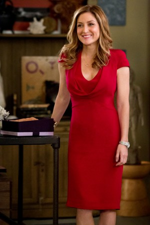 "Sasha Alexander in ""Rizolli and Isles."""