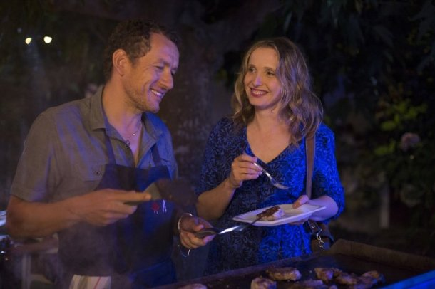 "Dany Boon and Julie Delpy  star in ""Lolo."""