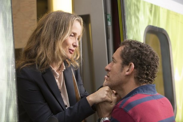 "Julie Delpy and Dany Boon star in ""Lolo."""