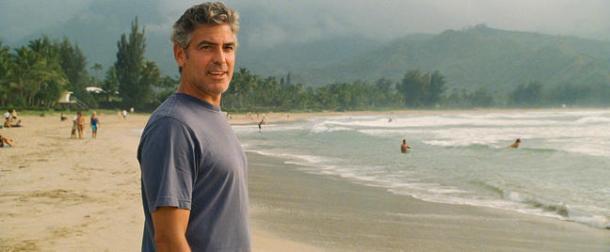George Clooney in The Descendants.