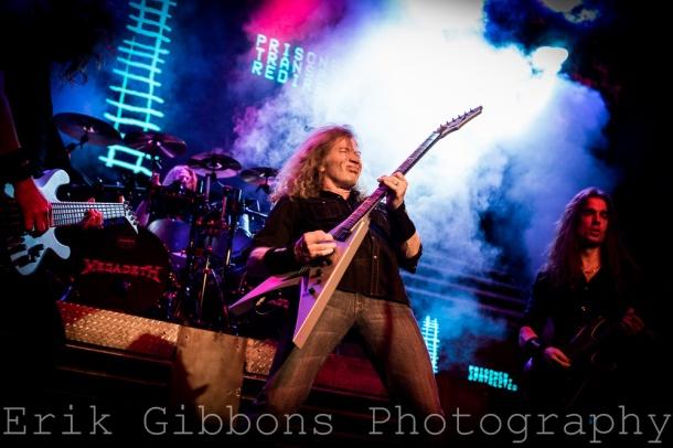 Megadeth - Electric Factory – Philadelphia, PA – March 20, 2016 - Photo by Erik Gibbons © 2016