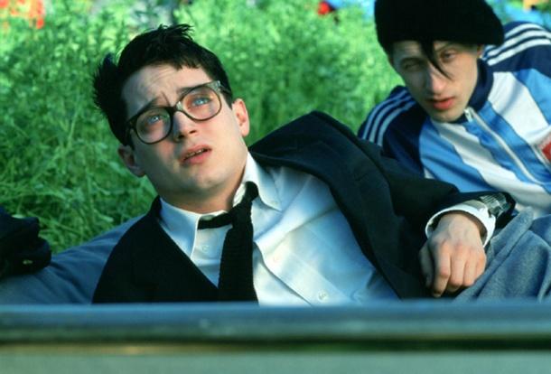 """Elijah Wood and Eugene Hutz in """"Everything Is Illuminated."""""""