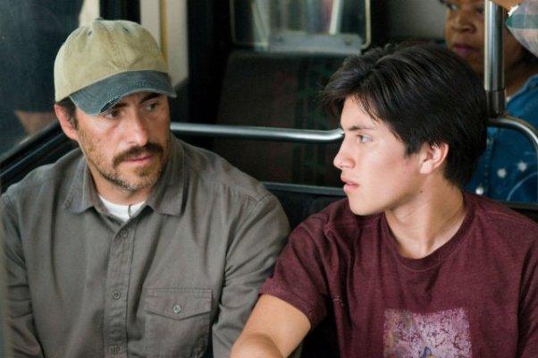 """""""A Better Life"""" stars Demián Bichir and José Julián."""