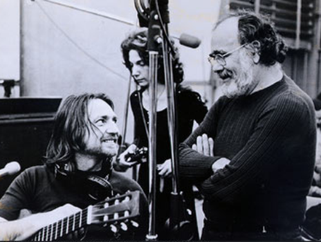 Willie Nelson and Jerry Wexler.
