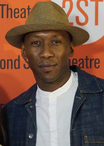 Mahershala Ali at the Second Stage Theater.