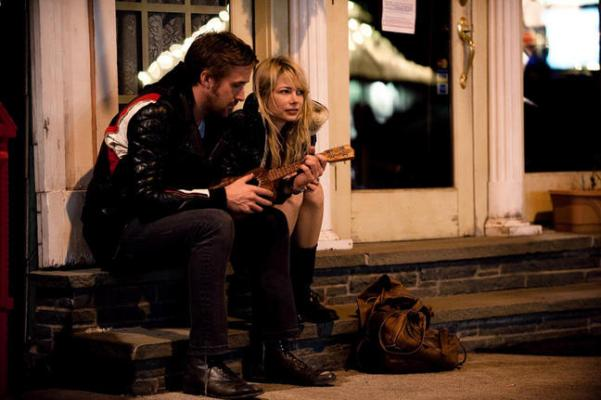 "Ryan Gosling and Michelle Williams star in ""Blue Valentine."""