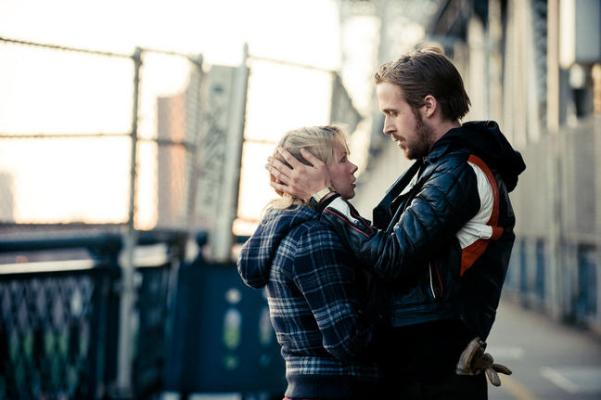 "Michelle Williams and Ryan Gosling star in ""Blue Valentine."""