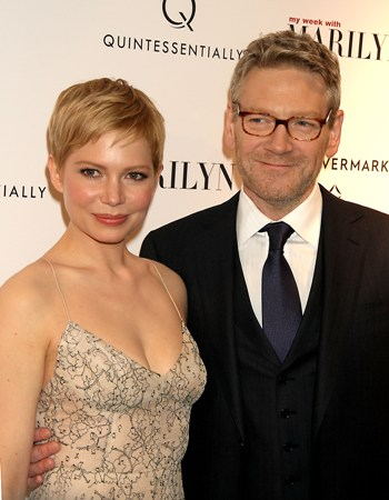 November 13, 2011 Michelle Williams, Kenneth Branagh attend the Quintessentially and Forevermark host of the NY premiere of the Weinstein Company's My Week with Marilyn at the Paris Theater in New York City.Credit:Roger Wong