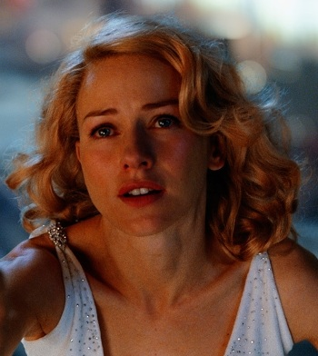 "Naomi Watts in ""King Kong."""