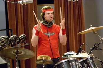 "Rainn Wilson in ""The Rocker."""