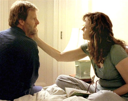 """Jeff Daniels and Sigourney Weaver in """"Imaginary Heroes."""""""