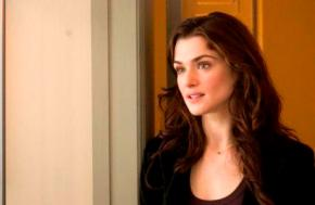 Rachel Weisz Steps Through the Garden