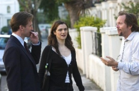 "Ralph Fiennes and Rachel Weisz in ""The Constant Gardener."""