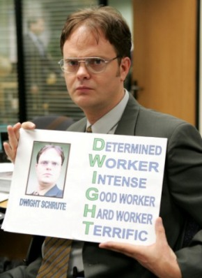 Rainn Wilson – Trying Harder in The Office