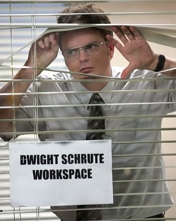 "Rainn Wilson in ""The Office."""